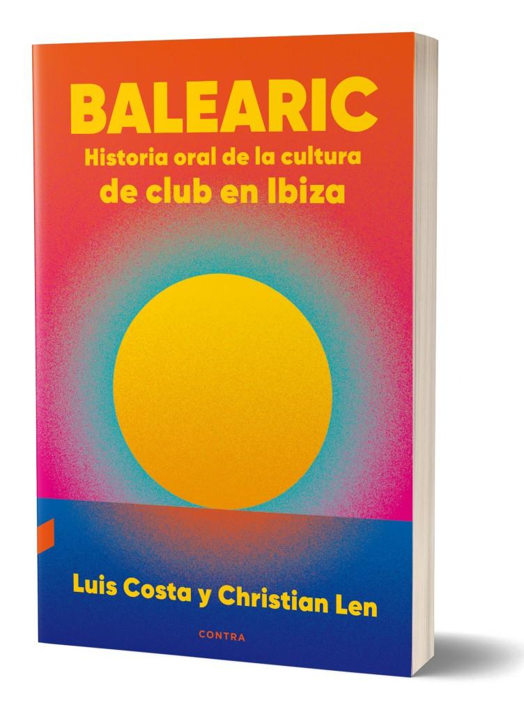 """Portada del libro """"Balearic"""", de Luis Costa y Christian Len."""