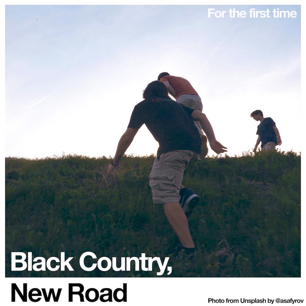 """Portada de """"For The First Time"""", primer disco de Black Country, New Road."""