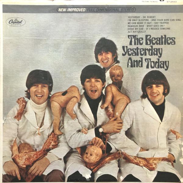 La portada carnicera de los Beatles