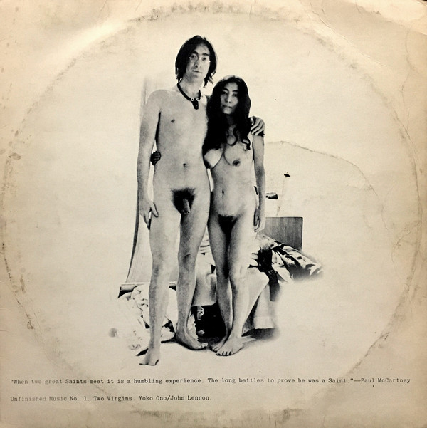 Portadas escandalosas: Unfinished Music No. 1: Two Virgins, de John Lennon y Yoko Ono (1968)
