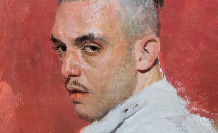 """C. Tangana, voz en España de música urbana, en la portada de su inminente nuevo álbum, """"El madrileño"""" (2021)"""