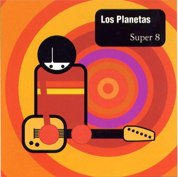 Portada del primer disco de Los Planetas