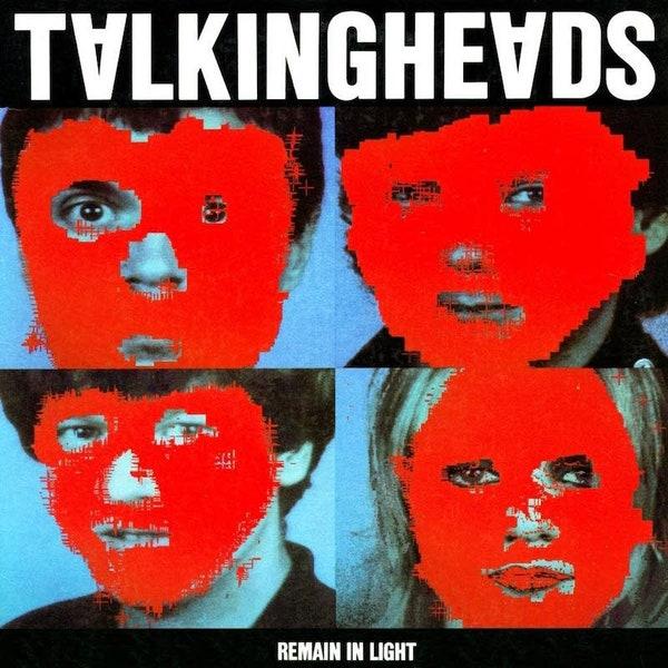 "Portada del disco ""Remain in Light"" de Talking Heads"