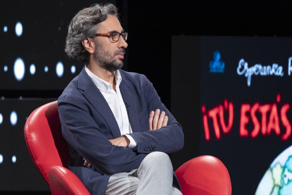 """El crítico cinematográfico Javier Ocaña en el programa """"Historia de nuestro cine"""""""