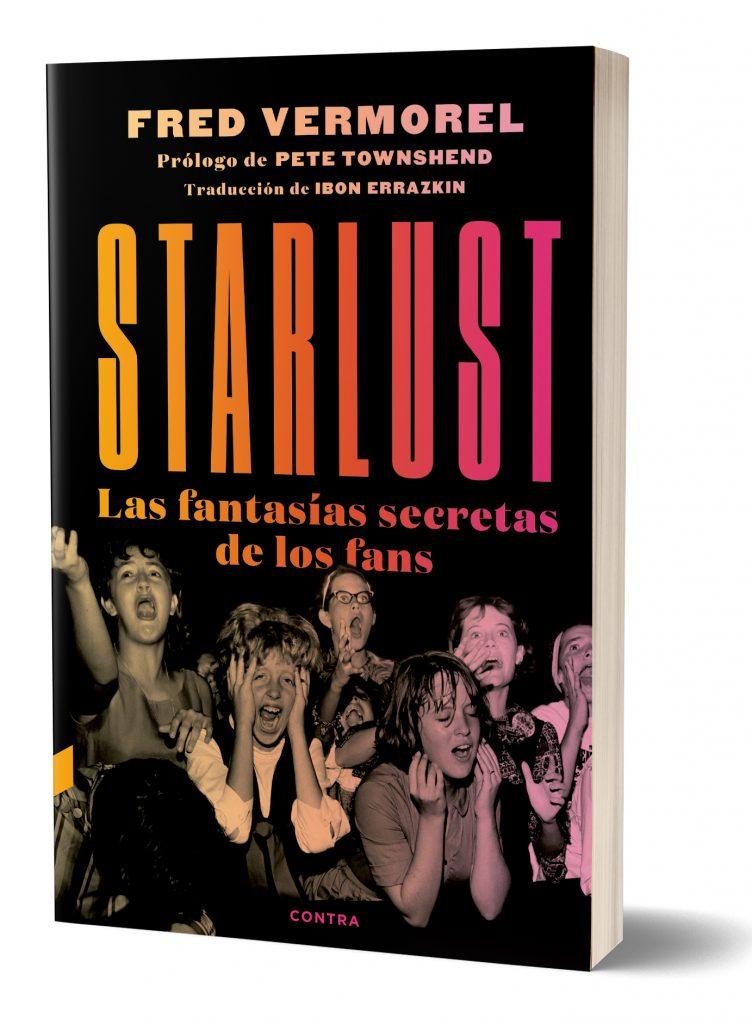 """Portada del libro """"Starlust"""", de Fred Vermorel."""