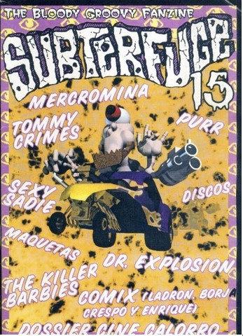 "Portada del fanzine ""Subterfuge"""