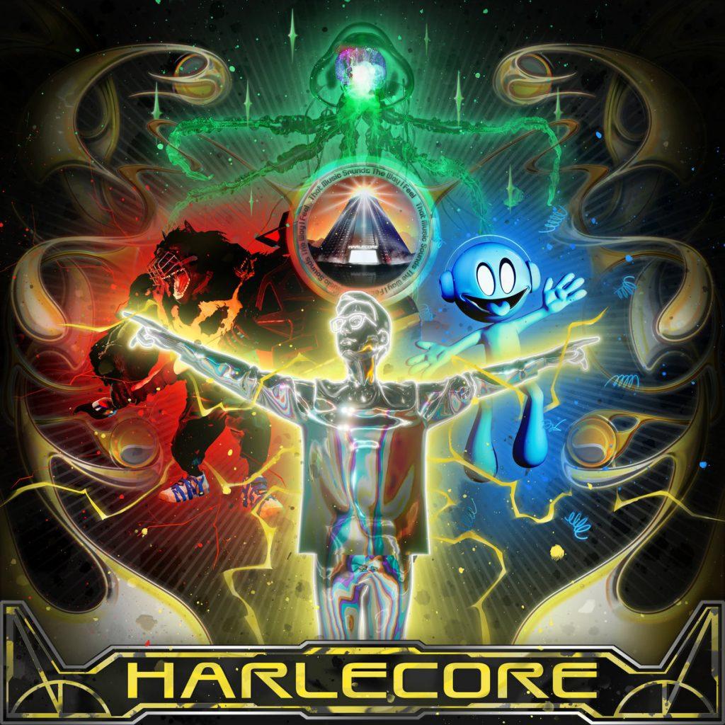 """Portada de """"Harlecore"""", el álbum de debut de Danny L Harle."""