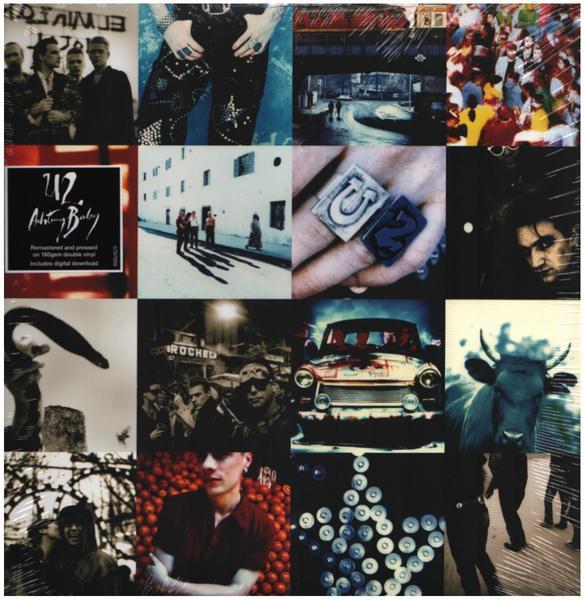 """Portada de """"Achtung Baby"""", el mejor disco de U2"""